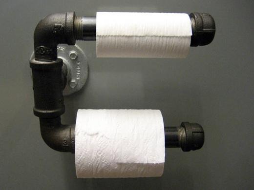 Những người có thu nhập thấp thường có xu hướng dùng giấy vệ sinh cuộn.