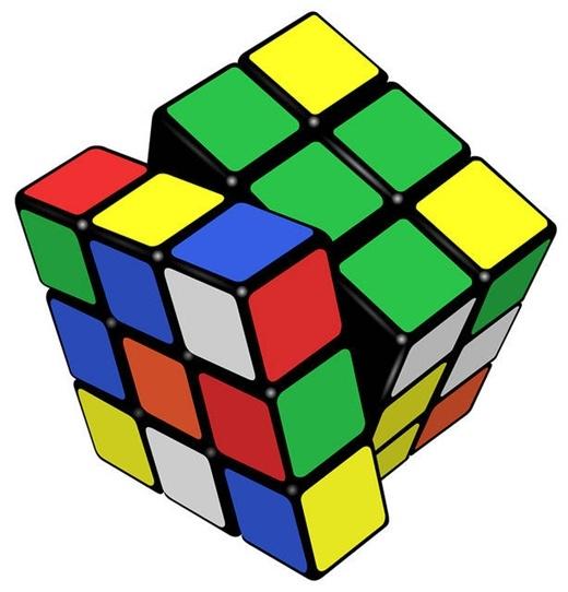 Một khối Rubic có đến 43,252,003,274,489,856,000 ( hơn 43 tỷ tỷ) cách giải đáp, và bạn cũng có thể giải một khối Rubic chỉ trong vòng 20 lần xoay hoặc ít hơn.