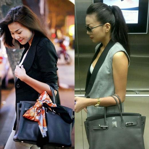 Cô còn có BST túi Hermes với giá mỗi chiếc túi bằng hoặc hơn 200 triệu đồng. - Tin sao Viet - Tin tuc sao Viet - Scandal sao Viet - Tin tuc cua Sao - Tin cua Sao