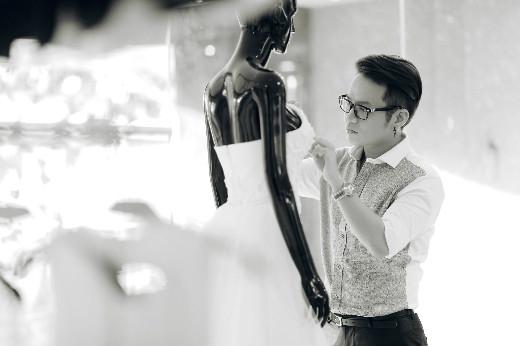 """Và bộ sưu tập áo dài cách tân """"Tinh tế hạt cà phê"""" của NTK Chung Thanh Phong"""