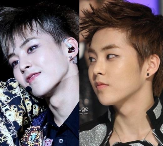 """Sau khi tích cực giảm cân, Xiumin (EXO) mới để lộ nhiều nét đẹp trên gương mặt """"mũm mĩm"""" của mình, đặc biệt là đường cằm vốn thu hút nay lại càng tăng tính """"đốn tim"""" fan."""