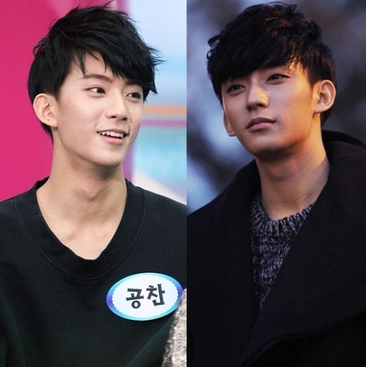 Độ dài và cong vừa đủ của đường cằm khiến tỷ lệ gương mặt của Gongchan thêm phần hoàn hảo, giúp em út B1A4 tỏa sáng mỗi khi nhìn nghiêng.