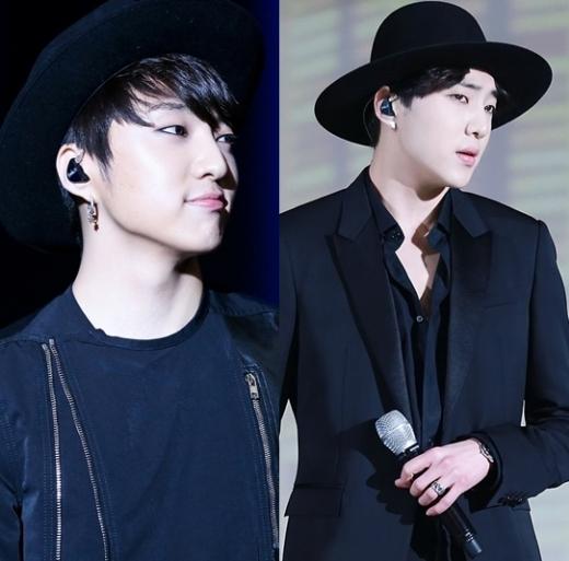 """Đường cằm lúc ẩn lúc hiện đã """"tố cáo"""" cân nặng của Seungyoon (Winner), tuy nhiên, dù nhìn thấy hay không thì xương quai hàm của anh chàng cũng """"không phải dạng vừa""""."""