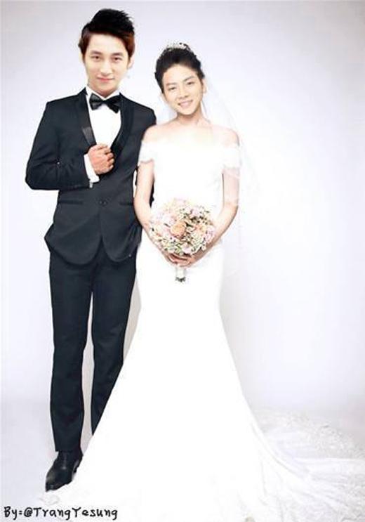Các fan đã photoshop ảnh cưới của hai người. - Tin sao Viet - Tin tuc sao Viet - Scandal sao Viet - Tin tuc cua Sao - Tin cua Sao
