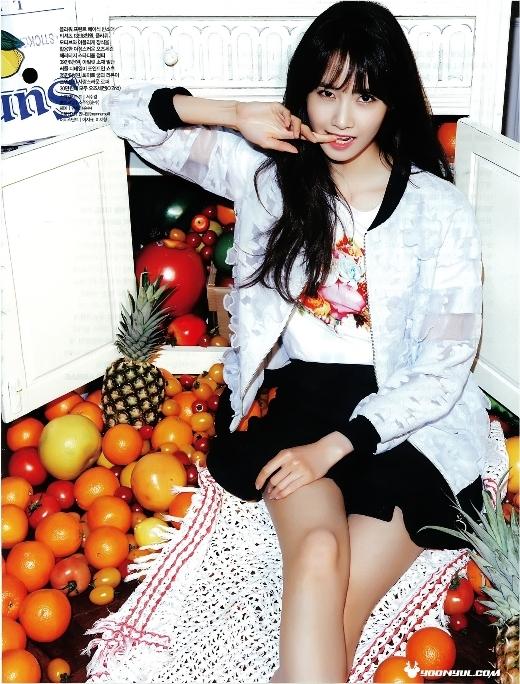 Yoona (SNSD) xinh hơn hoa trên tạp chí Ceci
