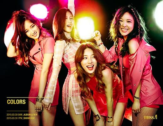 4 cô gái Miss A cực tươi trong hình ảnh teaser