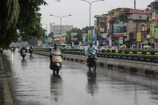 Một vài nơi ở miền Bắc sẽ xuất hiện những cơ mưa nhỏ, chấm dứt nắng nóng mấy ngày qua