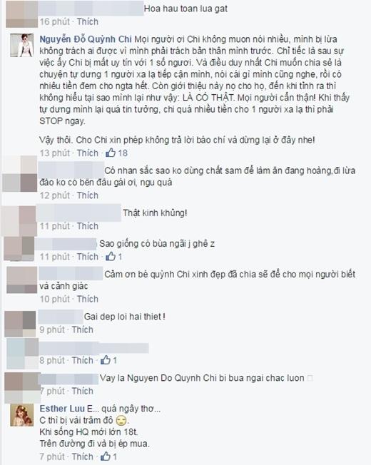 Quỳnh Chi bất ngờ tố bị Hoa hậu Phương Nga lừa mấy trăm triệu đồng - Tin sao Viet - Tin tuc sao Viet - Scandal sao Viet - Tin tuc cua Sao - Tin cua Sao