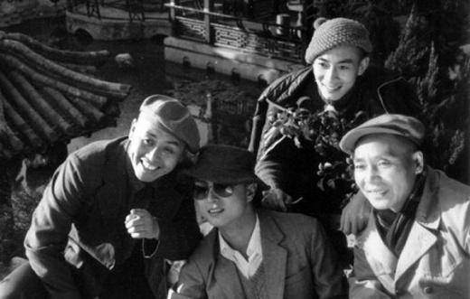 Bốn thầy trò Đường Tăng chụp ảnh lưu niệm khi nghỉ ngơi
