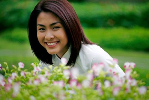 Vẻ đẹp luôn rạng ngời với nụ cười tươi tắn đã thu hút một lượng fan lớn cho Hà Tăng. - Tin sao Viet - Tin tuc sao Viet - Scandal sao Viet - Tin tuc cua Sao - Tin cua Sao