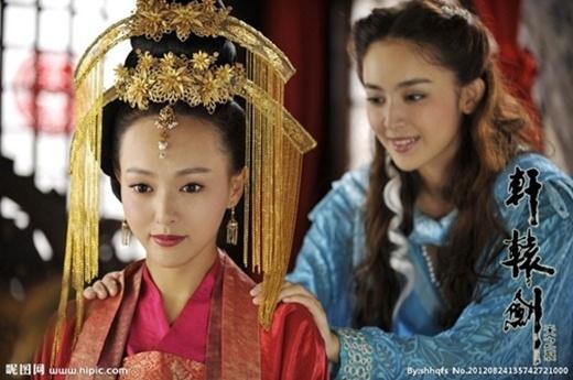 Tân tứ đại mỹ nhân cổ trang của màn ảnh Hoa ngữ