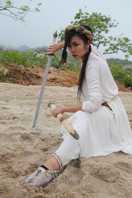 Tạo hình nhân vật của Tăng Thanh Hà trong phim Mỹ Nhân Kế. - Tin sao Viet - Tin tuc sao Viet - Scandal sao Viet - Tin tuc cua Sao - Tin cua Sao