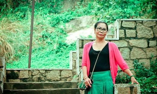 Chị Cao Thị Minh Nguyệt.