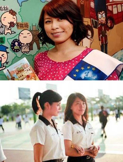 Trần Nghiên Hy và Loan Loantừng hợp tác trong phim You're apple of my eyes