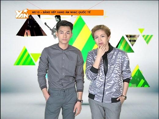 Gil Lê và Isaac sẽ đem lại một chương trình WE10 khó quên nhất trong lòng những khán giả hâm mộ theo dõi chương trình vào lúc 21h Thứ 6, ngày 20/03/2015 trên YAN TV.