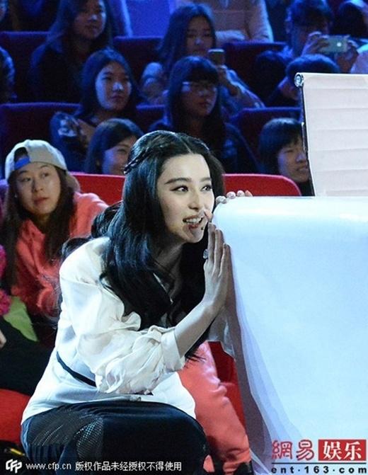 Phạm Băng Băng gọi tên Lý thần giữa show truyền hình