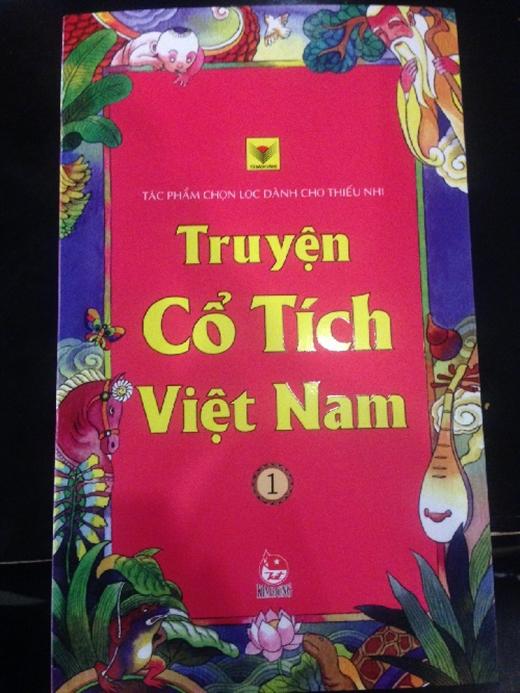 Cuốn sách có dị bản về câu chuyện Thạch Sanh.