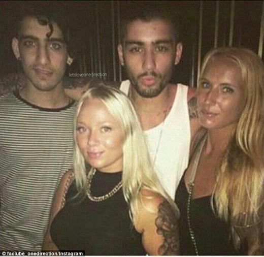 Lauren không phải là cô gái duy nhất chụp hình vớiZayn buổi tối hôm đó