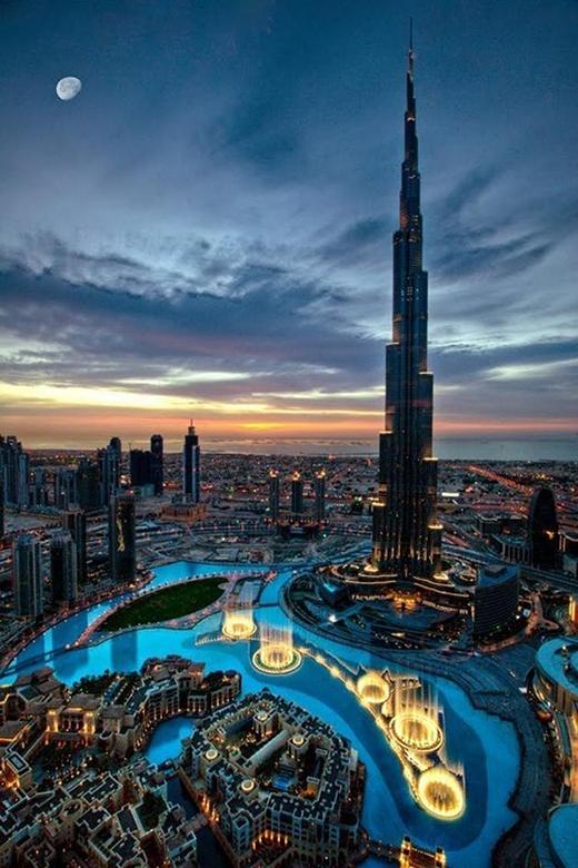 Dubai hẳn là một thành phố thiên đường.