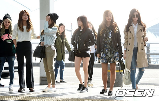 SNSD với đội hình 7 thành viên lên đường sang Đài Loan