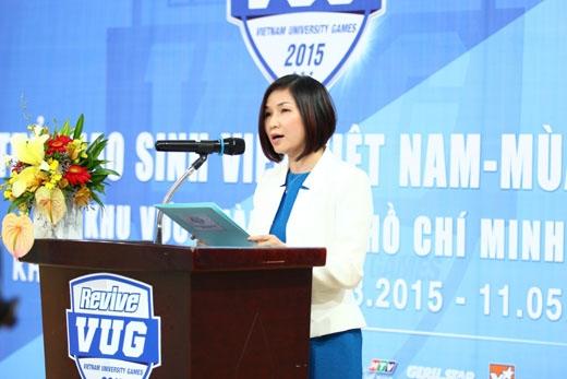 Bà Huỳnh Thị Xuân Liên - Phó tổng giám đốc Marketing cấp cao của Công ty TNHH Nước Giải Khát Suntory PepsiCo Việt Nam.