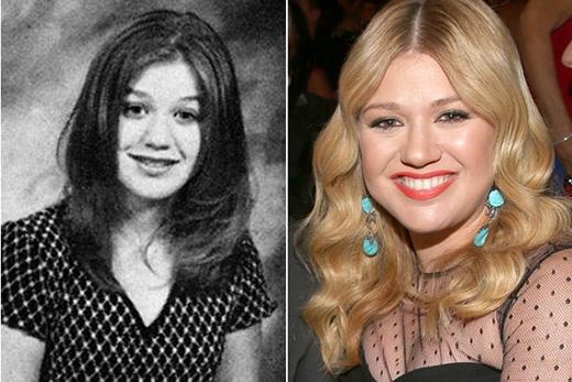 Kelly Clarkson trông cực kì ngây thơ trong bức ảnh kỉ niệm này
