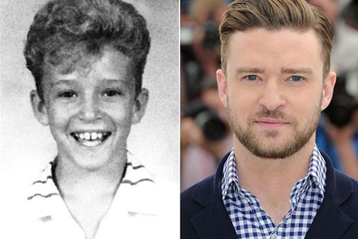 Có lẽ Justin Timberlake là anh chàng có thể đạt danh hiệu hớn hở nhất sách kỉ yếu đấy