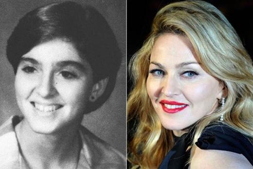Vẻ đẹp ngỡ ngàng của Madonna khi còn là học sinh