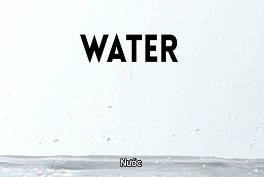 Nước chiếm phần lớn trong cơ thể chúng ta