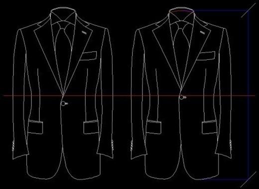 Giữ phần nút của chiếc áo vest ở trên phần rốn sẽ giúp cho phần thân và chân của bạn trông có vẻ dài hơn.