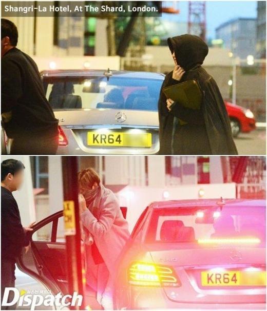 Lộ loạt ảnh hẹn hò của Lee Min Ho và Suzy tại Anh