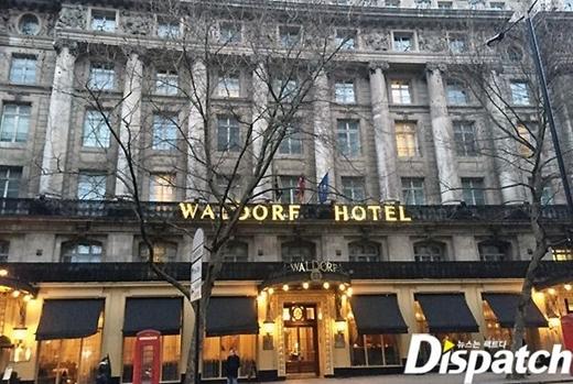 Đây là khách sạn Suzy ở để thực hiện lịch trình của mình