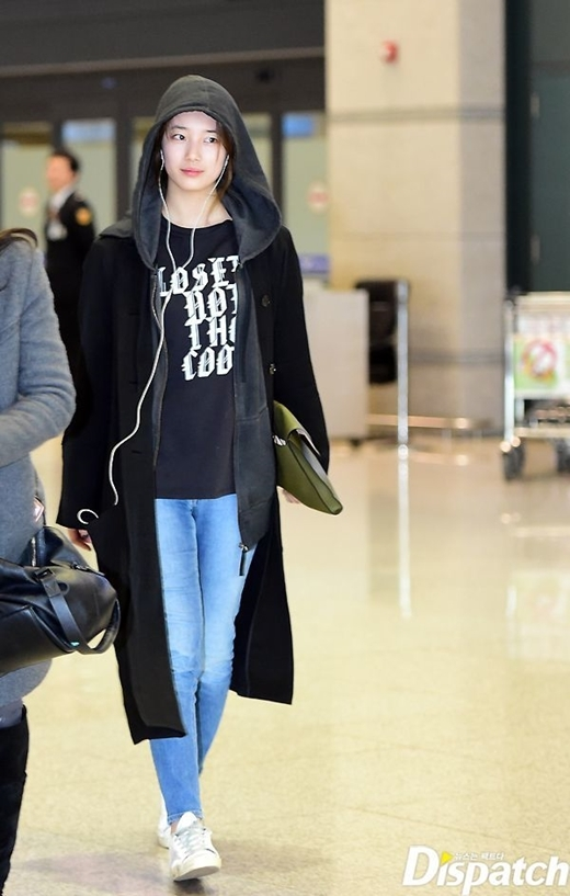 Suzy quay về Hàn vào ngày 18/3