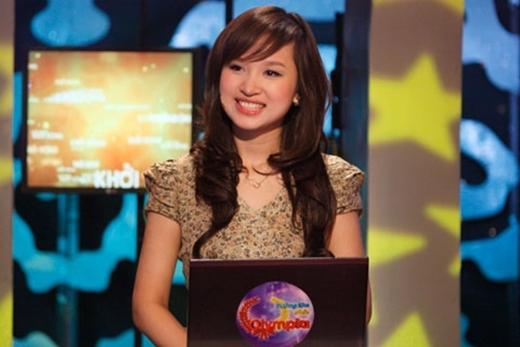 Từ đó, người đẹp đã nảy sinh niềm yêu thích đặc biệt với nghề này và đảm nhận vai trò MC cho rất nhiều các show khác nhau: Đường lên đỉnh Olympia, Vietnam's Got Talent, Chinh Phục. - Tin sao Viet - Tin tuc sao Viet - Scandal sao Viet - Tin tuc cua Sao - Tin cua Sao