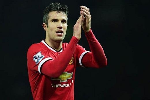 5. Robin van Persie (Manchester United).