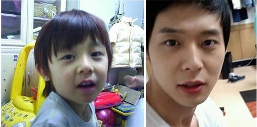 Dù không liên quan gì nhau, nhưng quả thật cậu bé Kim Min Chan và Yoochun giống như anh em ruột. Cư dân mạng thích thú khi đem một số hình ảnh của cậu bé và thành viên JYJ ra so sánh, kết quả là họ không khỏi ngạc nhiên về độ giống nhau của họ