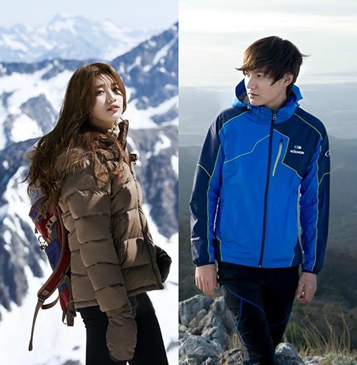 Lee Min Ho và Suzy đều là những nghệ sĩ sở hữu hợp đồng quảng cáo khủng nhất Hàn Quốc. Từ các mẩu quảng cáo của nhãn hàng nổi tiếng như thời trang, du lịch, nhà hàng,... đều thấy hình ảnh của Lee Min Ho và Suzy.