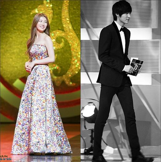 Cả hai đều sở hữu chiều cao lý tưởng. Nếu Lee Min Ho là chàng trai lịch lãm với chiều cao 1m88 thì Suzy lại là cô gái có vóc dáng mảnh mai với chiều cao 1m66. So về độ xứng đôi thì cả Lee Min Ho và Suzy đều không thể chê vào đâu.