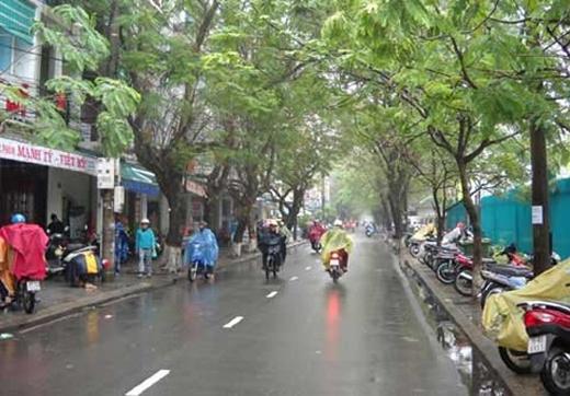 Miền Nam có một vài cơn mưa nhỏ, mưa rào sẽ xuất hiện vào buổi chiều