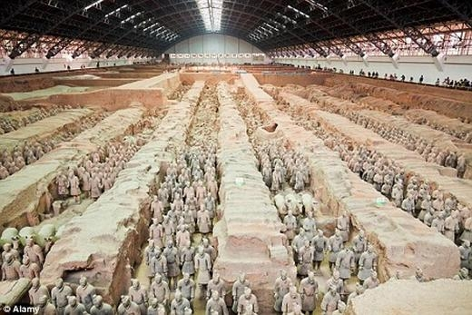 Khai quật được nỏ thần siêu công phá trong lăng Tần Thủy Hoàng