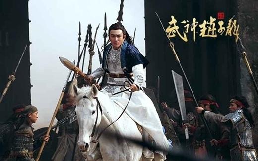Lâm Canh Tân vai Triệu Tử Long