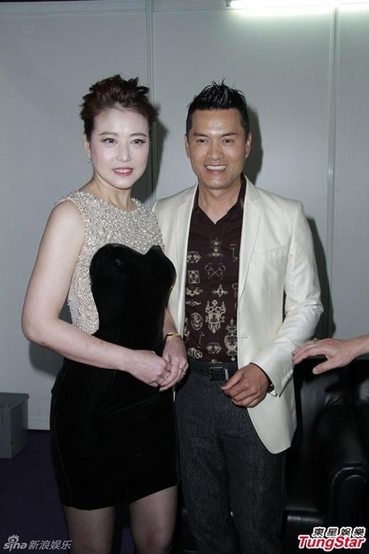 Với tài tử Lữ Lương Vỹ, chồng cũ của cô