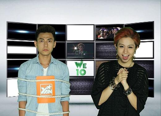 Gil Lê xuất hiện lần đầu tiên trên WE10 với vai trò khách mời.