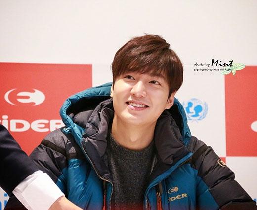 Nam diễn viên Lee Min Ho