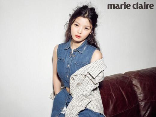 Kim Yoo Jung khoe vẻ quý phái trên tạp chí Marie Claire