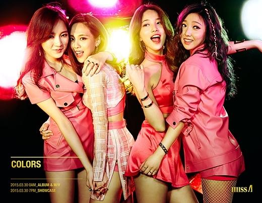 Lịch trình quảng bá của Miss A không thay đổi