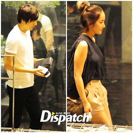 Những hình ảnh hẹn hò của Park Min Young và Lee Min Ho được Dispatch chụp lại