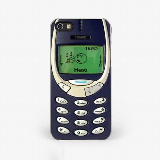 Bạn có nhìn nhầm với chiếc điện thoại Nokia cục gạch huyền thoại? Không! Đây là mặt sau của chiếc iPhone.