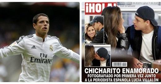 Người tình tin đồn của Ronaldo đang cặp kè với Chicharito?
