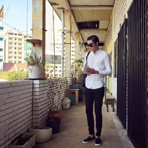 Chiều cao và thân hình lý tưởng của Quang Đại chính là thế mạnh của anh chàng.